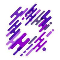 forma moderna abstracta colorida vector