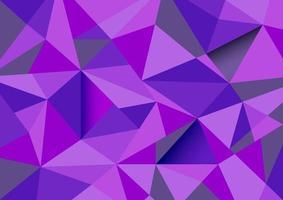 polígono abstracto colorido vector