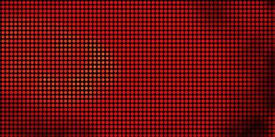 textura de vector rojo, amarillo claro con discos.