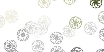 Light Gray vector background with spots.