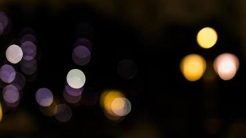 Glitter vintage lights background photo