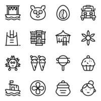 Filipino Cultural Elements vector