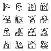 Philippine and Landmarks vector