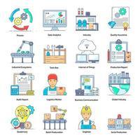 Data Analytics Elements vector