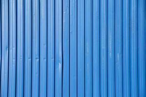 contenedor azul vibrante foto