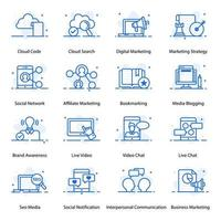 Business and Marketing and Element vector