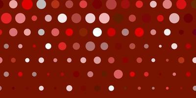 Light orange vector texture with disks.