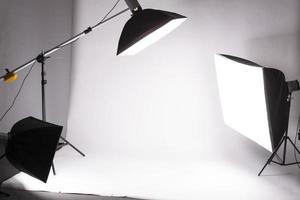 Backstage studio shooting photo