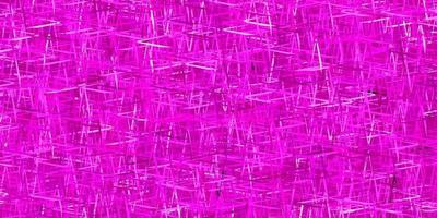 Dark Pink vector background with straight lines.