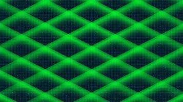 Fondo de tecnología de línea digital verde, diseño de concepto digital y de conexión, ilustración vectorial. vector