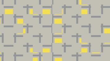 padrão uniforme de linhas e quadrados video