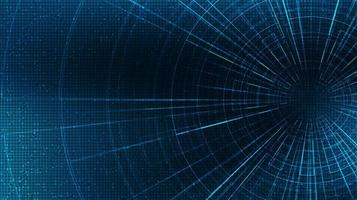 Abstract Hyperspace speed motion on future Technology background,warp and expanding movement concept,vector Illustration. vector