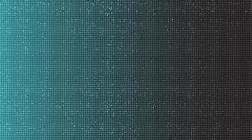 Fondo de tecnología moderna en negro y azul, diseño de concepto de comunicación y digital de alta tecnología, espacio libre para texto, ilustración vectorial. vector