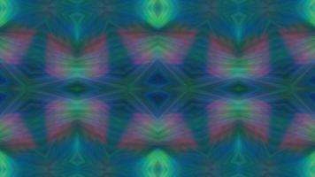 Abstract Green Kaleidoscope