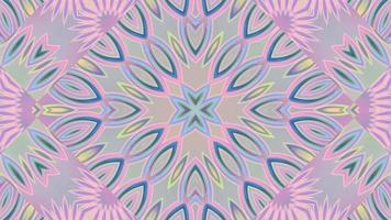 Abstract Textured Pink Kaleidoscope