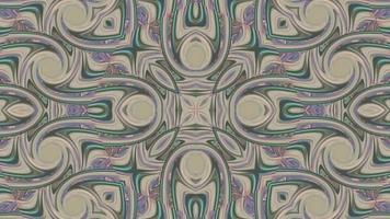 Abstract Chrome Kaleidoscope