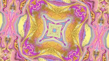 mångfärgad kalejdoskopisk bakgrund video