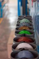 Stand for manufacturing of electrical automotive wiring photo