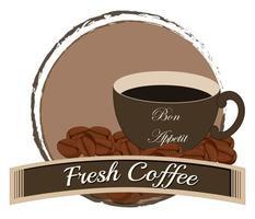 un café recién hecho foto