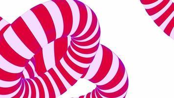 fundo de anel com padrão 3 d vívido video
