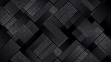 fundo de padrão quadrado cinza escuro video