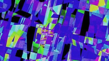 bunter Retro abstrakter Musterhintergrund
