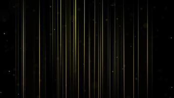 lujoso fondo de línea dorada video