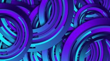 lebendiger runder Ringhintergrund des violetten Farbverlaufs