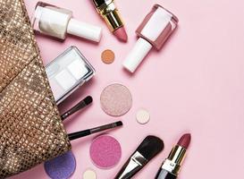 Bag of makeup photo