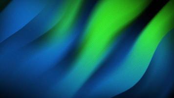 verde vívido fluindo fundo abstrato gradiente distorcido video