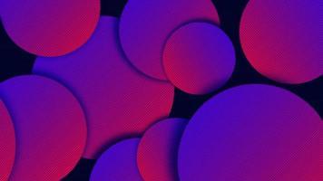 fundo vibrante com forma de círculo gradiente escuro