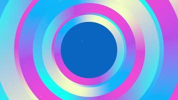 fundo de anel redondo multicolorido brilhante