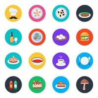 Food and Cuisines vector