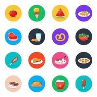 Cuisine Food Items vector