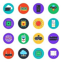 Technological Devices Rounded vector