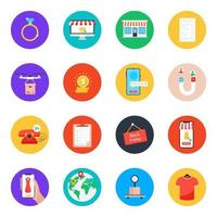 Shopping and Commerce vector