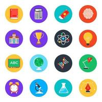 Education and Study Elements vector