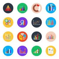 Business Charts and Infographic vector