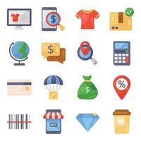 compras y negocios vector