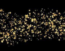 Glitter pattern made of stars vector