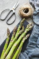 Asparagus with twine photo