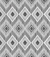 patrón geométrico abstracto sin fisuras. ornamento de la línea del zig zag del doodle de la tela. fondo de dibujo a lápiz en zigzag vector