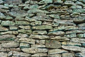 textura de pared de roca vieja foto