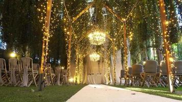 decorações cênicas de casamento video