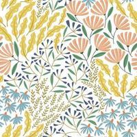 Summer cute seamless pattern vector
