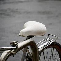 Bicycle seat, mode of transportation photo