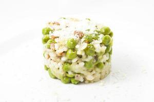 Rice with pea dish photo