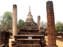 Parque histórico Si Satchanalai, Sukhothai, Tailandia foto