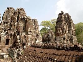 Ruins of Angkor Wat in Siem Reap, Cambodia photo