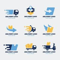 Delivery Logo Collection vector